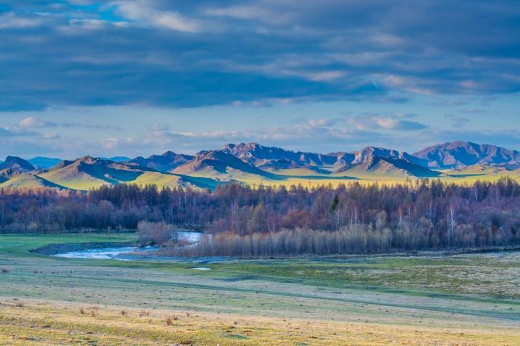 Живописные ландшафты Горного Чарыша