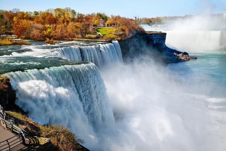 Ниагарский водопад, США круто, переезд, страны, уезжают