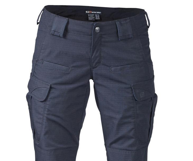 Готовые карманы на сшитых своими руками женских брюках, пример 7