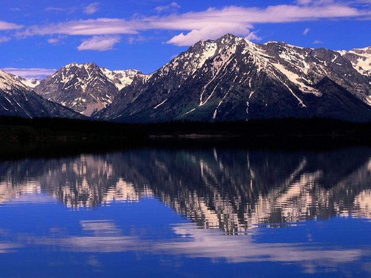 Горы на фоне горного озера история, факты