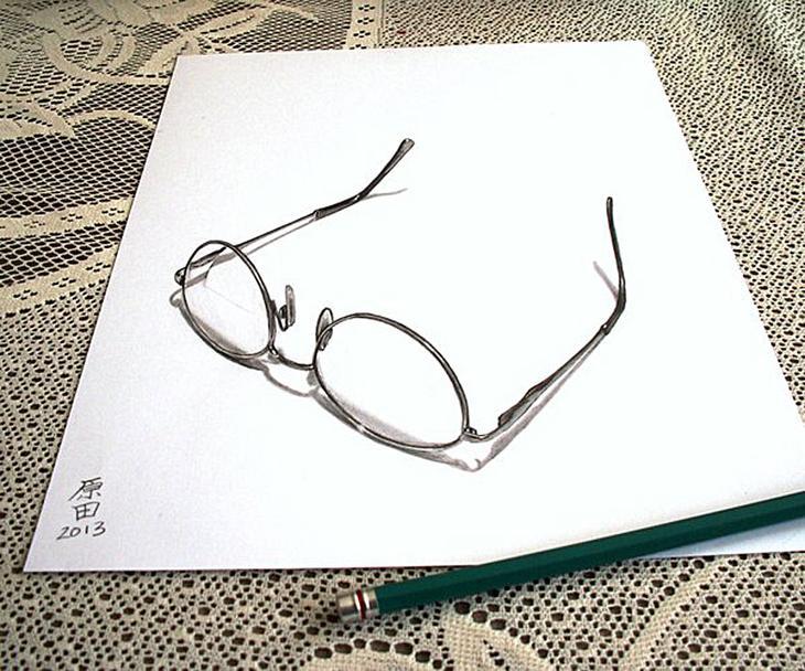 3Ddrawings12 Самые впечатляющие карандашные 3D рисунки от художников со всего света