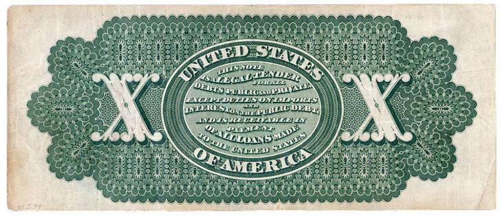 дизайн американских банкнот 6