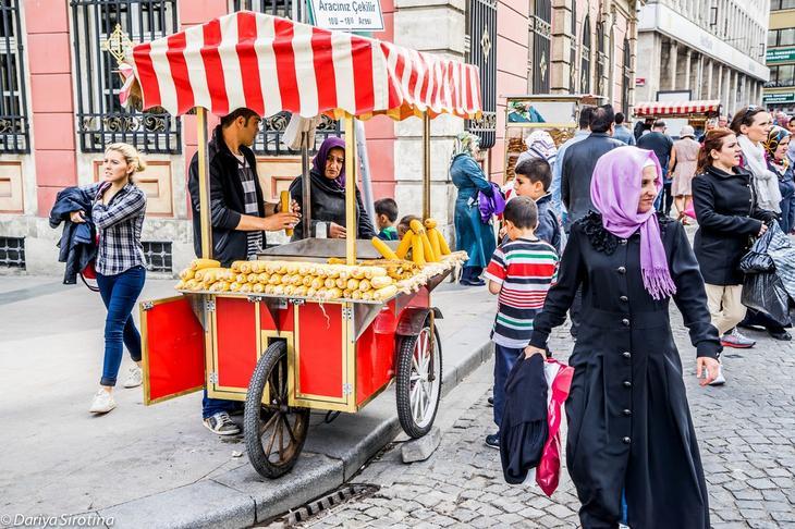 Вкусности Стамбула еда, путешествия, стамбул