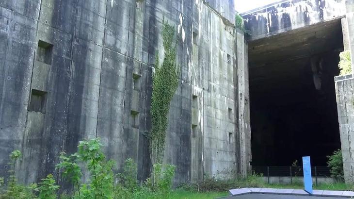 Бункер подводных лодок Valentin в Бремене - память о войне