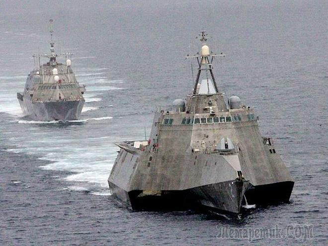 Целый класс боевых кораблей США превратился в металлолом