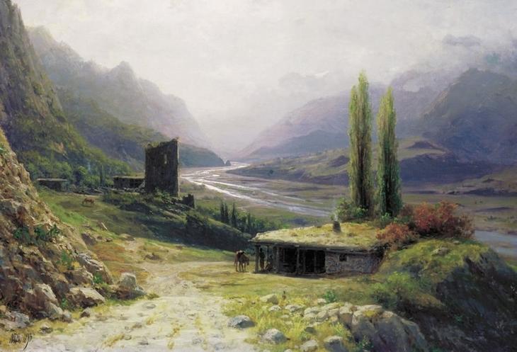 художник Лев Лагорио картины – 16
