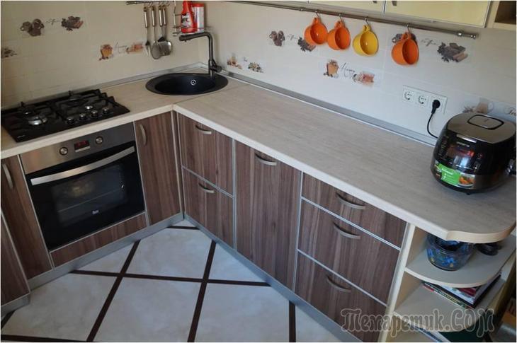 Размещаем кухню своей мечты на маленьких метрах