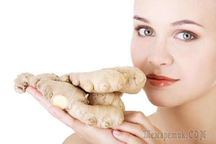 Полезные свойства имбиря для организма женщины