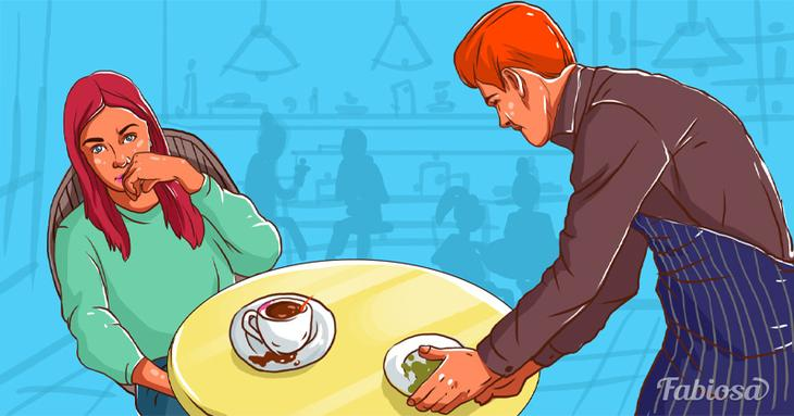 Задачка на сообразительность: почему девушка попросила заменить кофе?Задачка на сообразительность: почему девушка попросила заменить кофе?Acumen problem: why did the girl ask to replace coffee?