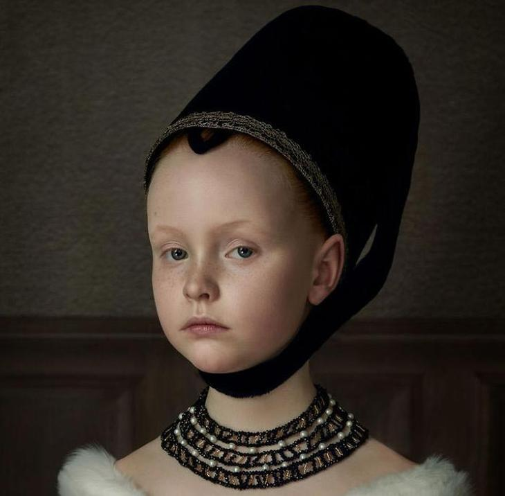 Эти фотографии голландского фотографа похожи на классические картины, перенесенные в жизнь
