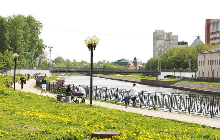 Набережная в Иваново