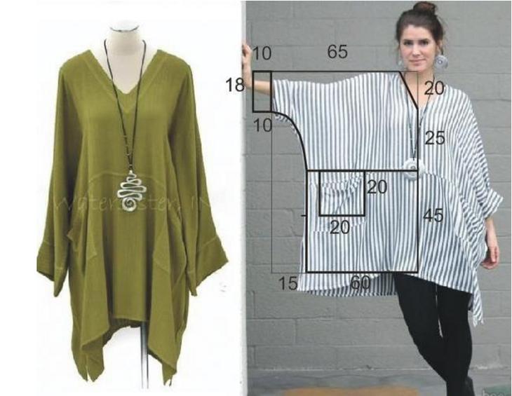 Как сшить модное платье на плечах 34
