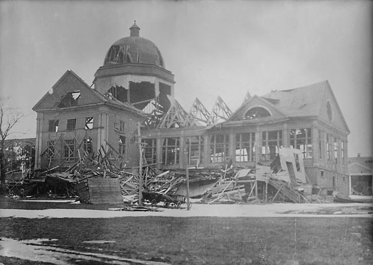 Катастрофический взрыв, или как параход погубил город параход, взрыв, катастрофа