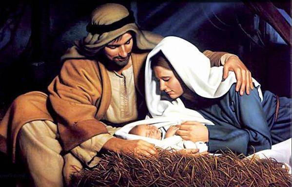 Мать и отец Иисуса Христа