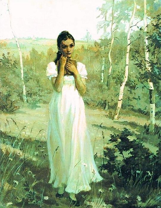 О чём говорит письмо Татьяны, сколько ей было лет, и кого убил Пушкин в лице Ленского