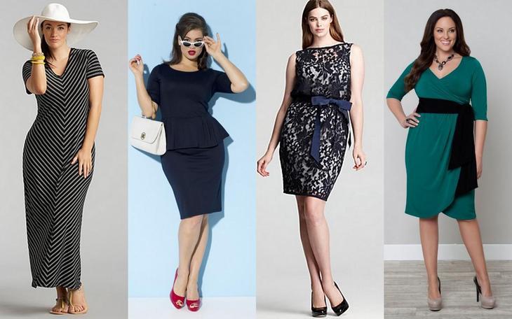 Как правильно одеваться полным девушкам