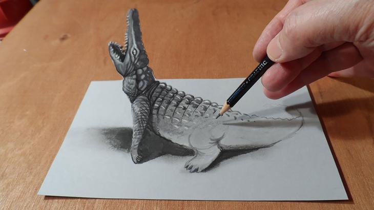 3Ddrawings10 Самые впечатляющие карандашные 3D рисунки от художников со всего света