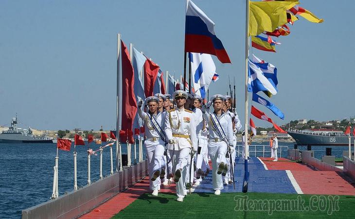Письмо генсеку ООН: Украина возмутилась парадом ВМФ России