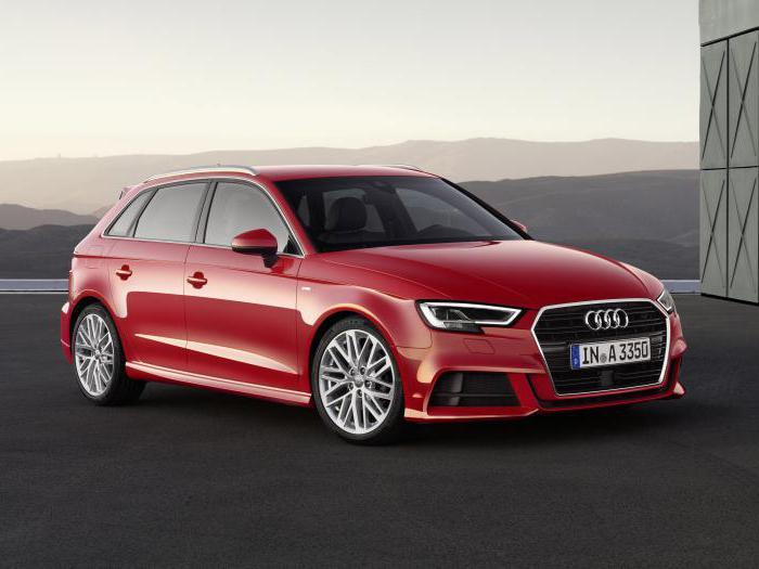 Повседневный автомобиль Audi A3
