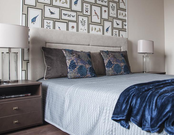 Фотография: Спальня в стиле Современный, Квартира, Украина, Проект недели, Киев, Монолитный дом, 3 комнаты, Более 90 метров, Яна Молодых – фото на InMyRoom.ru