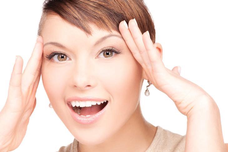 Влияние йоги для лица на красоту и здоровье кожи