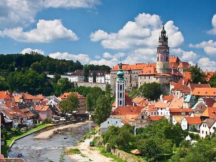 Назовите столицы и самые большие города в странах региона Восточной Европы.