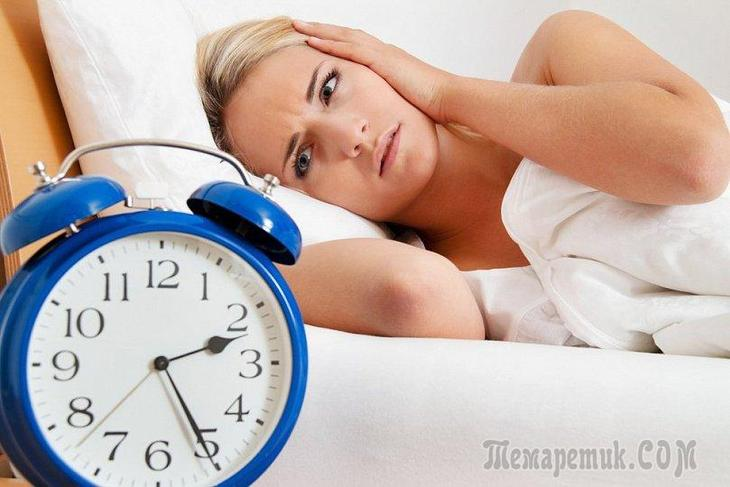 Причины плохого сна у взрослых