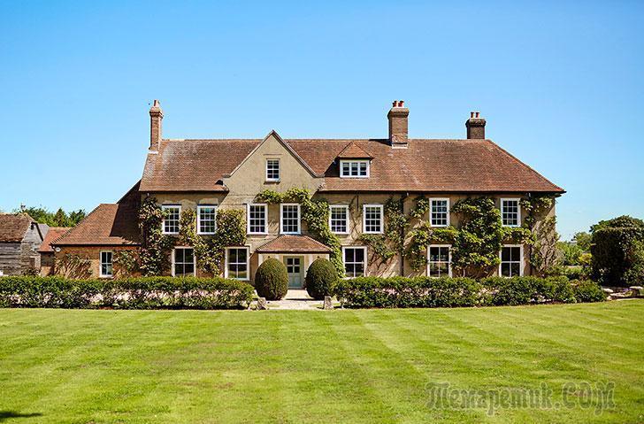 Современный дом на месте бывшей фермы в Англии