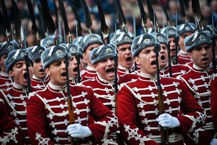 Bulgária Estilo, exército, guerra, mundo, forma, roupas, forma