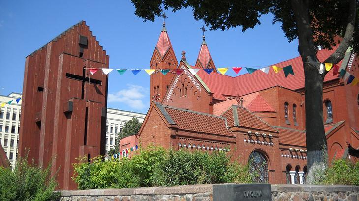 Костёл святого Симеона и святой Елены в Минске