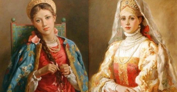 Картинки по запросу женщины на руси