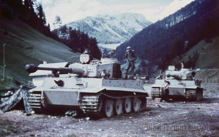 Немецкий «Тигр» против нашего ИС-2 — битва технологий