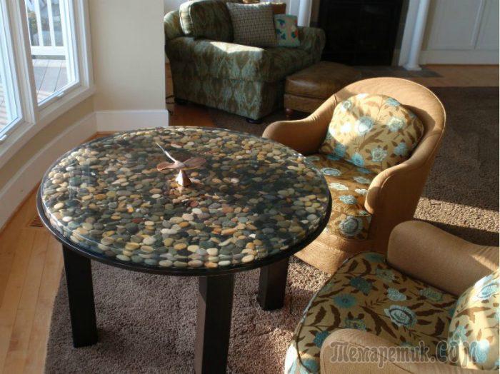 Очень красивые идеи использования камней в дизайне дома и сада
