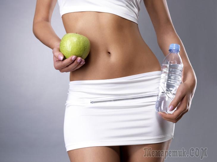 Очищающая диета для желудка, кишечника и похудения
