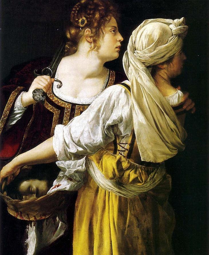 «Юдифь со служанкой» (1612-1614)