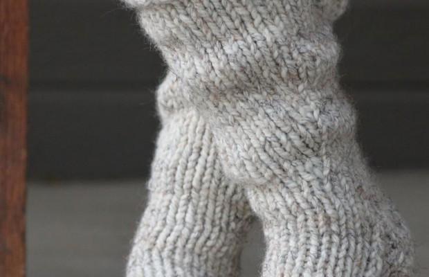 fullsize Ажурные носки спицами со схемами и подробным объяснением как вязать