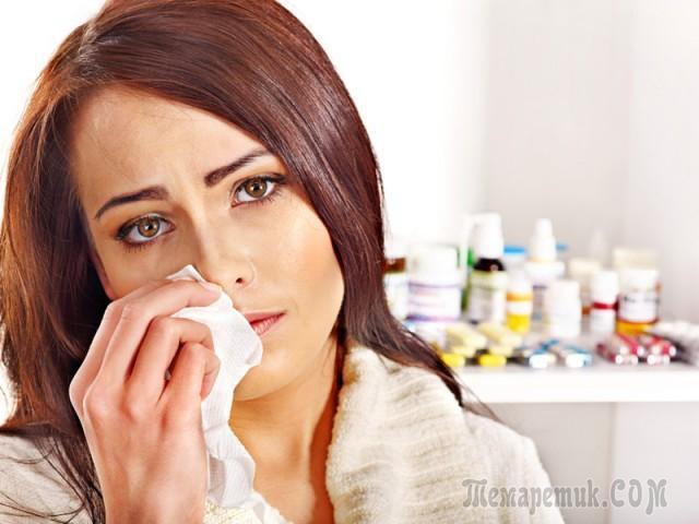 Чем закапать нос в домашних условиях