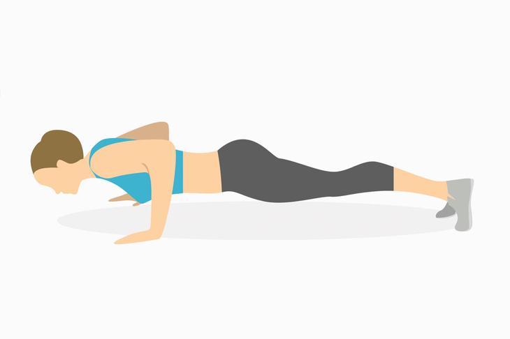 Упражнения для рук — отжимания