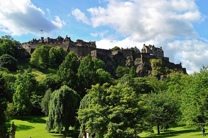 Эдинбургский замок (Edinburgh Castle)