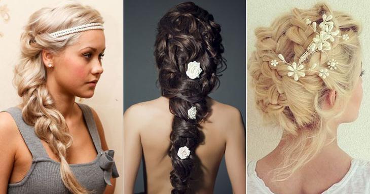 Как красиво украсить волосы