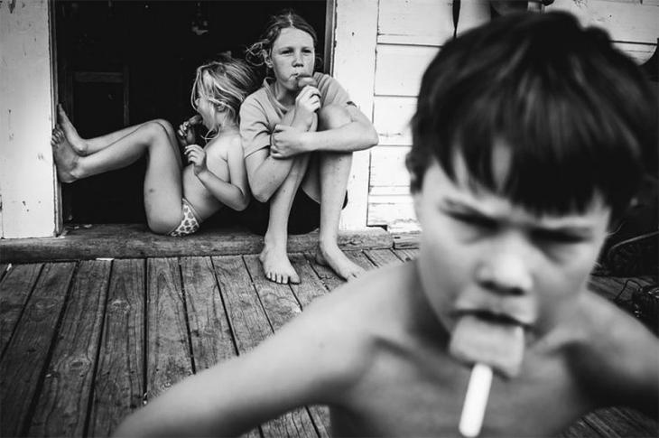 Мама 4-х детей показала, каким бывает детство без телевизора и гаджетов