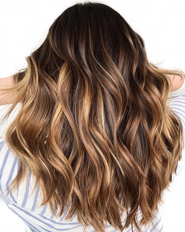 оттенки волос, популярные в 2019 фото 10