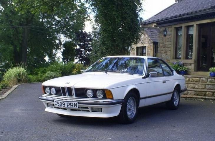 1986 год: BMW 635 CSi