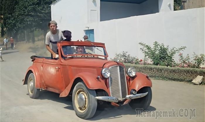 5 культовых автомобилей советского кино, ставших легендами