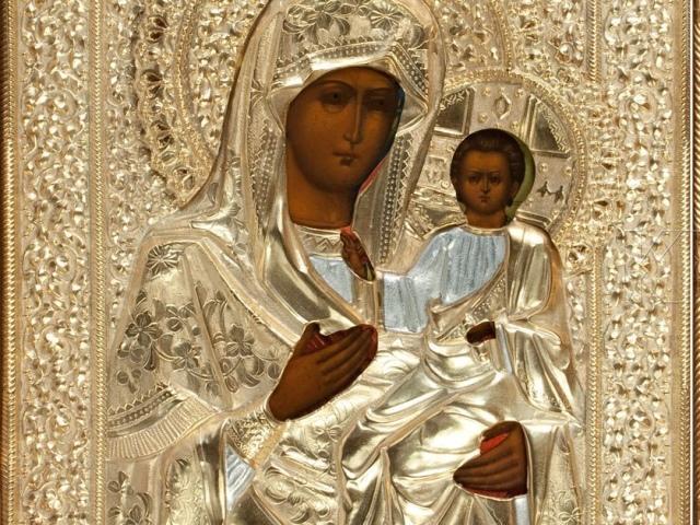 Легенды, история и фото Иверской иконы Божией Матери