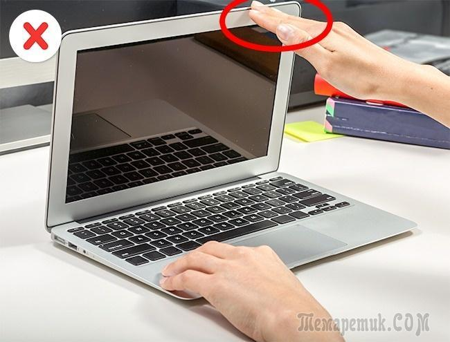 12 действий, которыми мы незаметно портим свой ноутбук