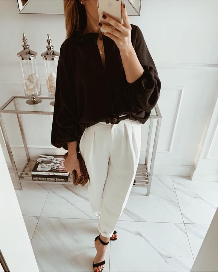 Модные блузки 2019 фото 15