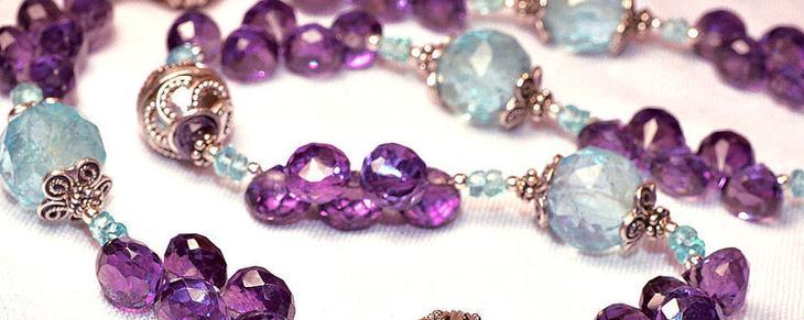 Из каких камней делают украшения разных видов