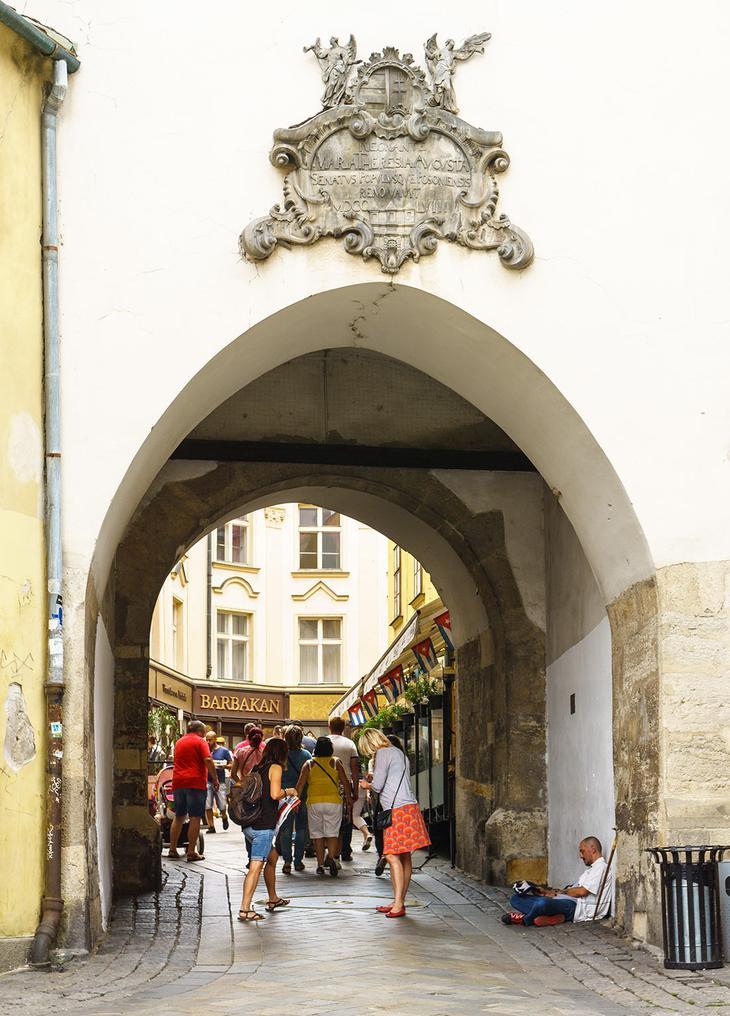 Михайловские ворота в Братиславе