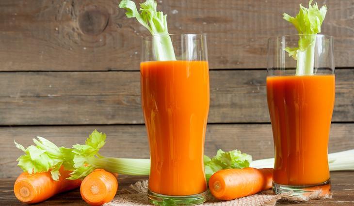 Овощные коктейли положительно влияют на состояние поджелудочной железы